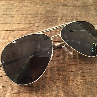 Absolute Vintage - Castle Road (Castle Road) metal frame aviator sunglasses Young - Silver Silver