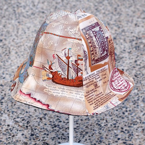 Calf Calf Village village men and women neutral cap visor hat-sided hand-nautical maps Europe map {control}