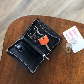 革職人 LEATHER FACTORY【DUALLINE Key Case Wallet】Made in Japan