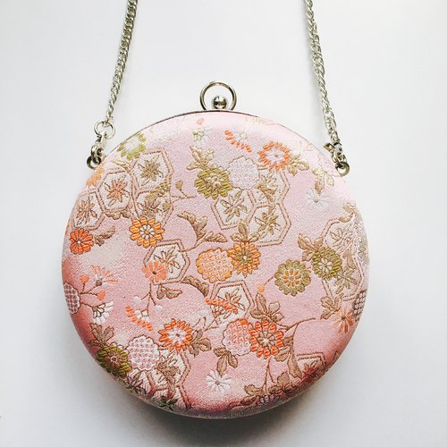 Bagel Bag - Japanese Pinky Flowers