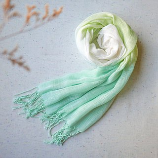 Tie dye/scarf/shawl :Green angel:
