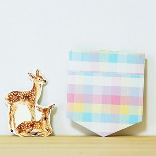 Greeting card/Pocket/Bambi