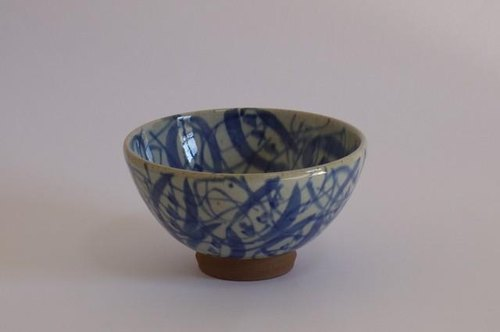 Bowl (Wu State picture vine flower design) in