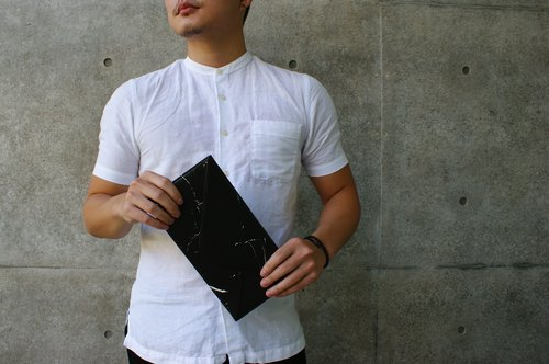 Marble Travel Wallets (Black)