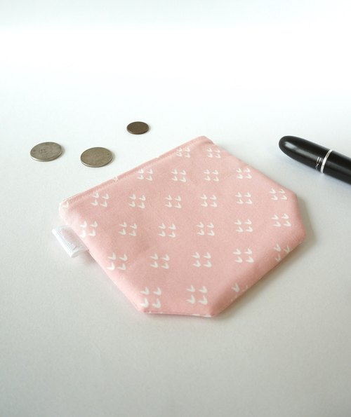 / ♡ ♡ ♡ / / angle coin purse / card storage package / make-up packet / carry a small package