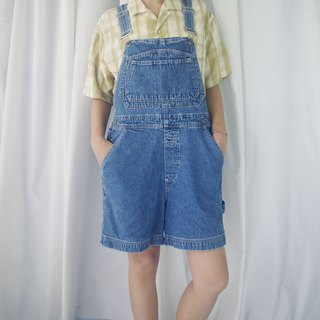 Treasure Hunting Vintage - Boy Wind Vintage Washed Old Blue Sling Shorts