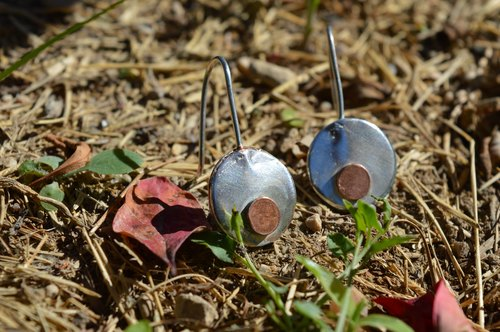 Sterling silver earrings  - Handmade in Spain