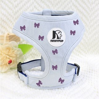NINKYPUP reflective pet harness leash set cute romantic elegant bow