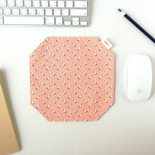 / Toucan - Pink Orange / / Mouse Pad / Place Mat