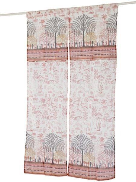 ☼ ☼ village pattern curtain