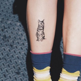 cottontatt bengal leopard cat temporary tattoo sticker
