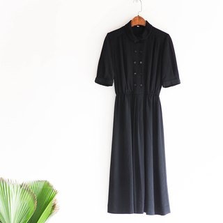 River Water Mountain - Akita Sailor Youth Love Diary Antique Collar Silk Dresses overalls oversize vintage dress