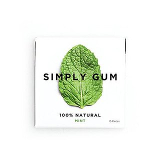 Simply Gum Simple Mint Gum