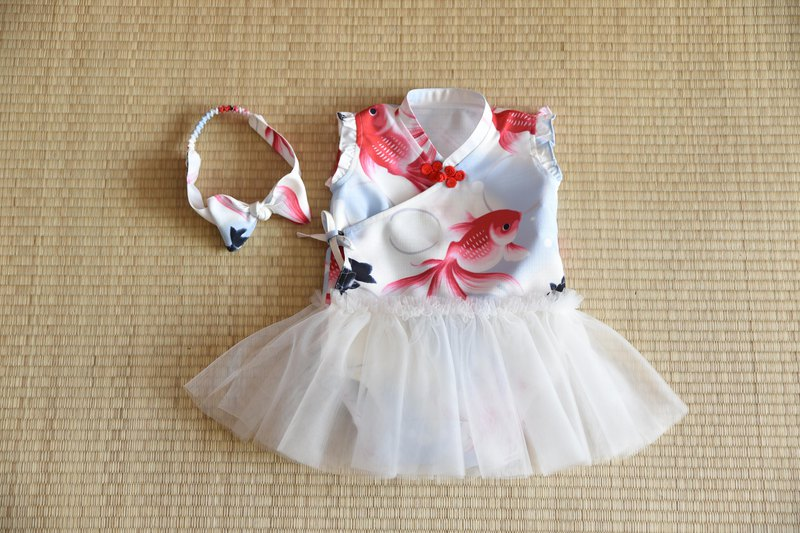 Small goldfish package fart clothes TUTU gift box group to catch the week to receive Miyue month