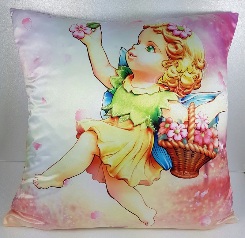 Flower fairy Tenantye pillow