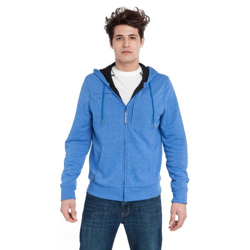 BAUBAX SWEATSHIRT multifunction Hoodie (M) - Blue