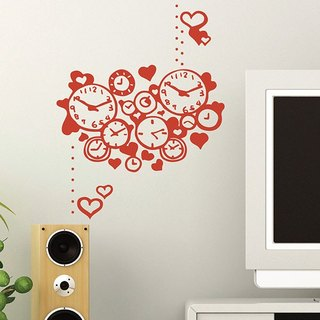 "Wall stickers - Taiwan creative creative trace ""Smart Design"" how much time love"