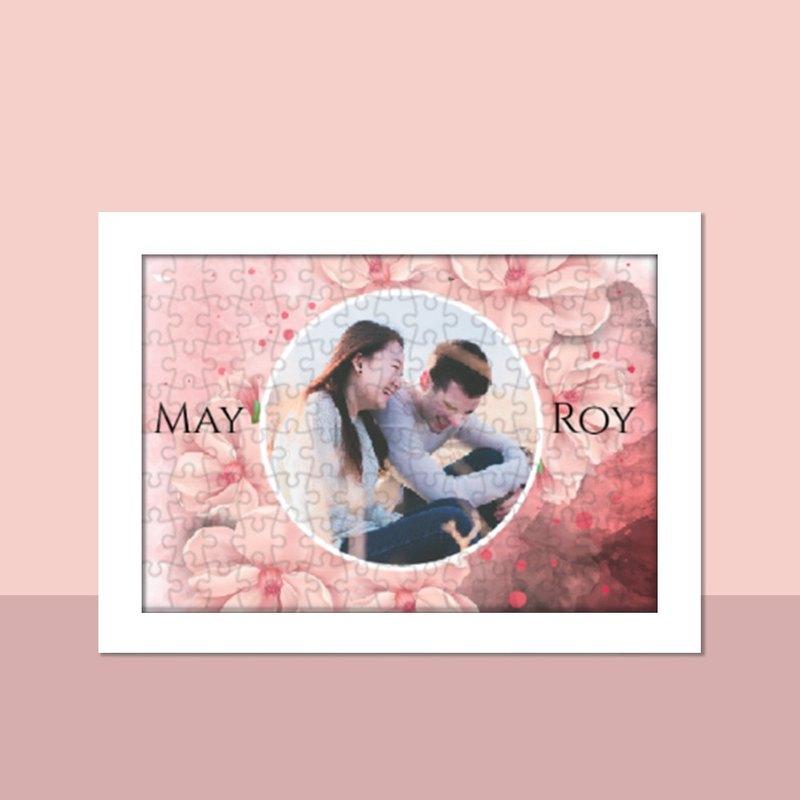 母親節禮物-個人化拼圖定製-Deep Red Valentine款式