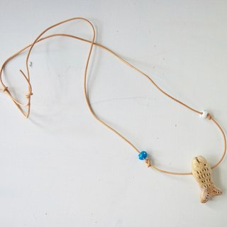 fish pendant with gift box
