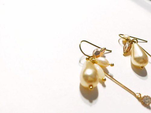 A Bead reason not love white diamond earrings brass