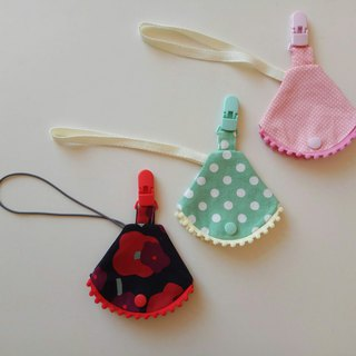 Small cotton ball nipple dust jacket clip nipple clip + pacifier sleeve vanilla nipple nipple bag