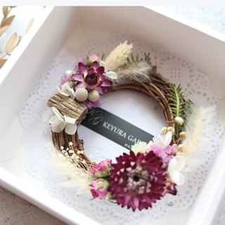 Everlasting Flower / WR01 / Valentine's Day Bouquet / Dry Flower Wreath / Dry Flower Bouquet. Dry Wreath. Gifts