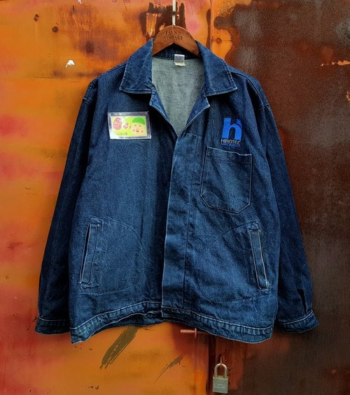 Small turtle Gege - heavy tooling work tannery jacket