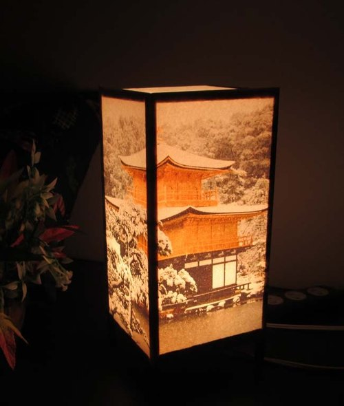 Shine stand-3 type of Temple of the Golden Pavilion »5-17-peace of dream light «snow