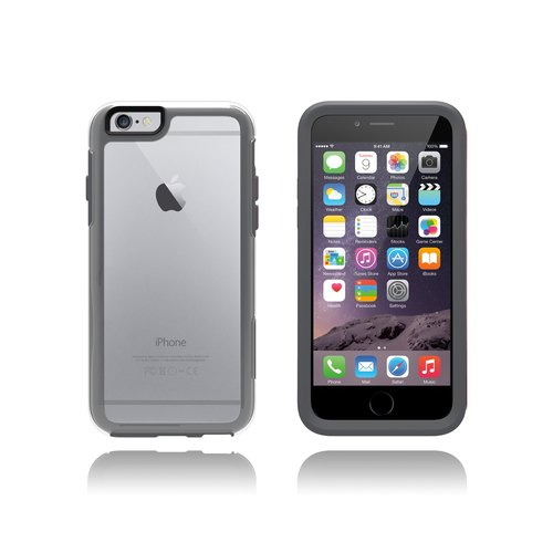 [IPhone 6 / 6s] OtterBox My Symmetry protective shell transparent gray