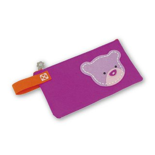 Fairy Land [Material Bag] Animal Styling Pencil Bag - Bear