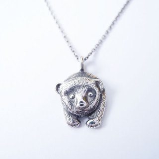 Polar bear 925 silver necklace / Polar bear NK