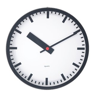 "10"" Non-Ticking wall Clock"