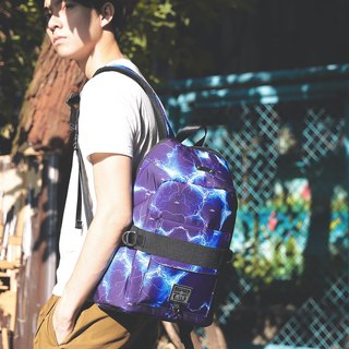 【Brand Zhou Qing - Flower Sale Sale $ 1000】 Bandage Bag (L) ║ Lightning Blue ║