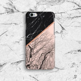 Marble and Trees -Designer iPhone Case. Pattern iphone 8,  7 Plus Case. Elegant Marble iPhone6 Case. iPhone 6 Cover. Geometric iPhone6