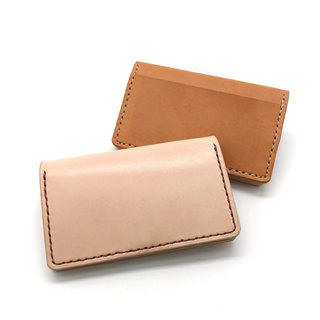Leather Card Holder (14 colors / engraving service)