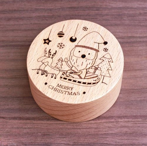 KOKOMU Christmas Music Box - Santa Claus