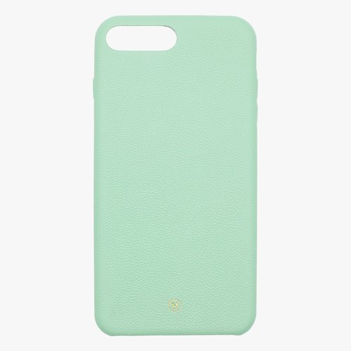 Customized multicolor leather lambskin series Macaron fantasy pink pink green iPhone case