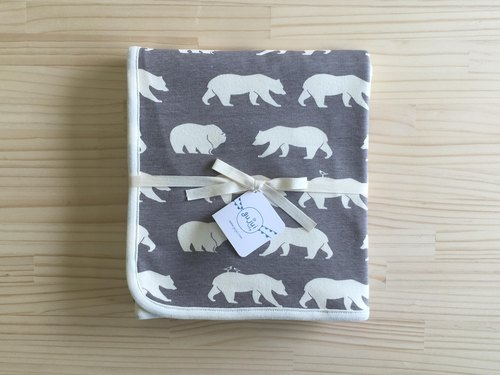 gujui raging love organic cotton baby blanket