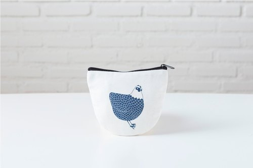 Animal Curvy Pouch - Chicken