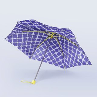 ALL PLASTIC FRAME Ultra Lightweight Umbrella - Butterfly Chain