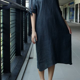 Made to order linen dress / linen clothing / long dress / casual dress E15D