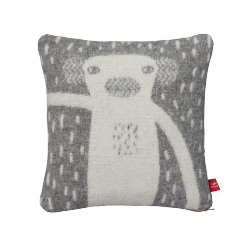 Monkey pure wool pillow | Donna Wilson