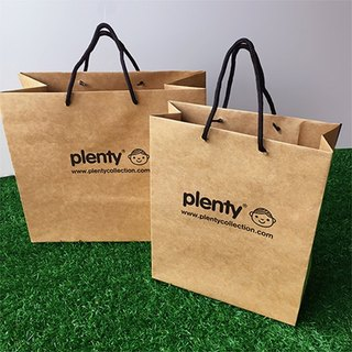 Plenty design small gift bag (right)