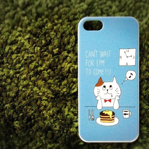 Cat iPhone case of the favorite pancake