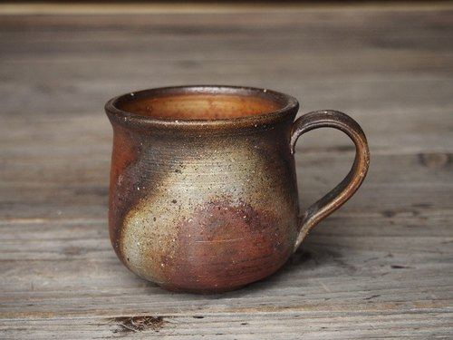 Bizen coffee cup (medium) _c2-037
