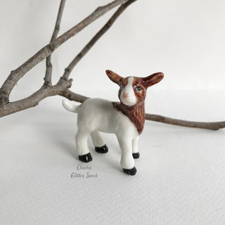 Cute goat tiny