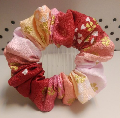 Handmade hair band Xiu Xiu colon - Sunset (S)