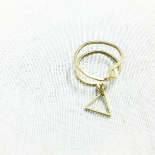 Grocery Travelin Small triangle (brass ring) Christmas limited gift wrap (free)