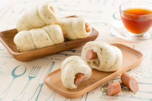 【Manchu fragrant】 German sausage manual bread -4 into the equipment