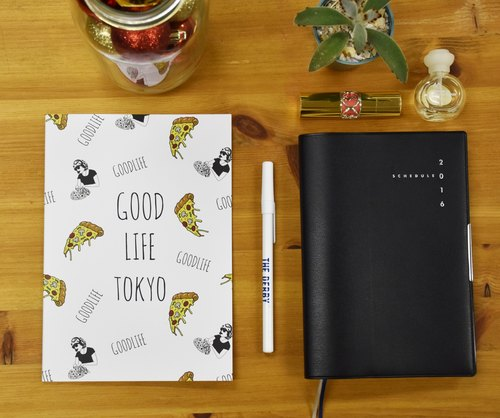 Good Life Tokyo 'PIZZA NOTE' / WH